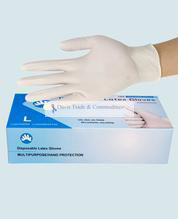 Picture of Disposable Latex Gloves (Non-medical)