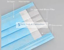 Picture of Disposable Medical Mask, 3-Ply (>95%)