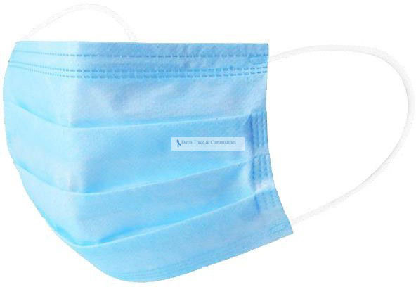 Picture of Disposable Surgical Mask, 3-Ply (>99%)