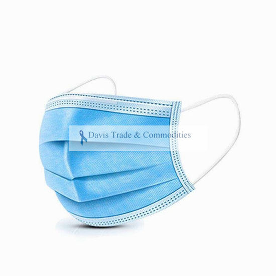 Picture of Disposable Surgical Mask 3 ply 3D