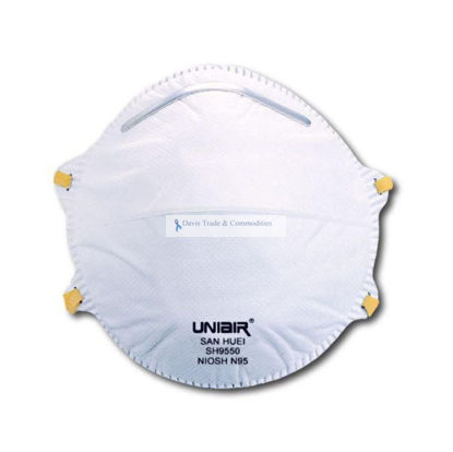 Picture of N95 Disposable Particulate Respirator