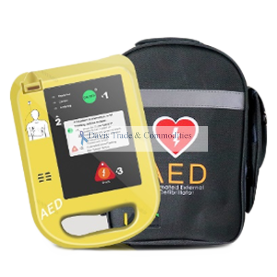 Picture of AED Defibrillator with 2 Sets of Pads and Battery